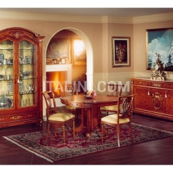 Marzorati Showcases with wooden structure Dining room  - DUCALE DUCVE2P / Display cabinet with 2 doors - №23