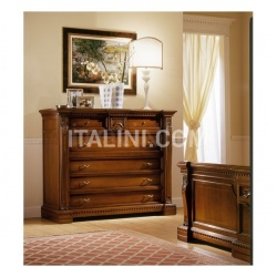 Marzorati Classic style chests of drawers Hotel bedroom  - REGINA NOCE / Chest of drawers - №68