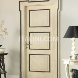 CARRACCI 2016/QQ White crust slate black Classic Wood Interior Doors - №80