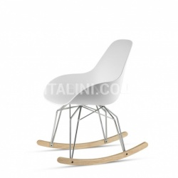 Diamond Dimple Closed Rocking Chair - №12