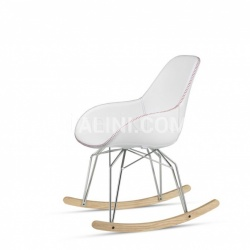 Diamond Dimple Tailored Rocking Chair - №17