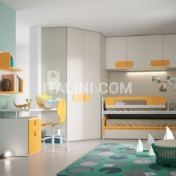 Mistral Bedroom with overbed unit 21 - №23