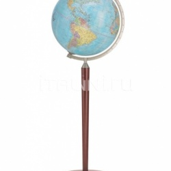"Zofolli ""Vasco da Gama"" floorstanding globe - Light Blue Political - №111"