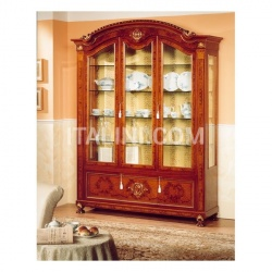 Marzorati Luxury showcase Antique art gallery  - DUCALE DUCVE3P / Display cabinet with 3 doors - №24