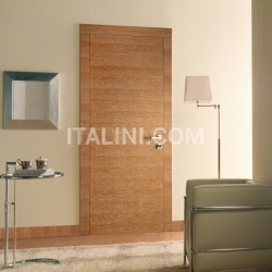 Giudetto FP 1011/QQ/H Brushed oak pickle-stained white. Modern Interior Doors - №191