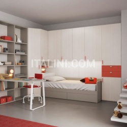 Bedroom with overbed unit 20 - №22