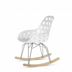 Kubikoff Diamond Dimple Closed Rocking Chair - №12