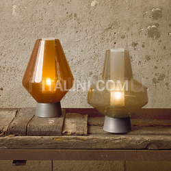 Diesel by Foscarini Metal glass table - №7