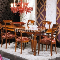 Luxury classic chairs, Art. 3172: Extensible table - №108