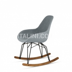 Kubikoff Diamond Dimple Tailored Rocking Chair - №17
