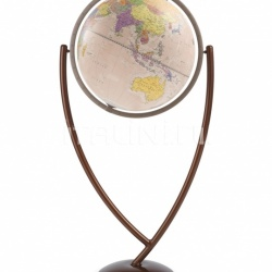 """Colombo 50"" contemporary design floorstanding globe - Pink Political - №121"