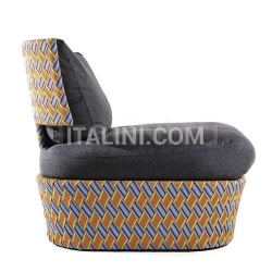 KENTE lounge chair - №143