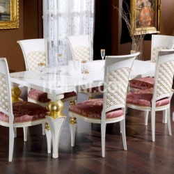 Luxury classic chairs, Art. 3272: Table - №90