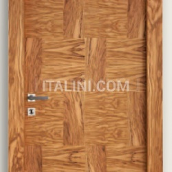 Giudetto Patch 1011/QQ/PW3 Patchwork oiled olive (type 3). Modern Interior Doors - №201