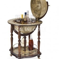 """Marte"" bar globe on casters - №16"