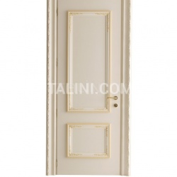 LEONFORTE 1334/QQ Ivory and ochre door Classic Wood Interior Doors - №14