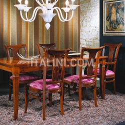 Bello Sedie Luxury classic chairs, Art. 3024: Table, Extensible table - №122
