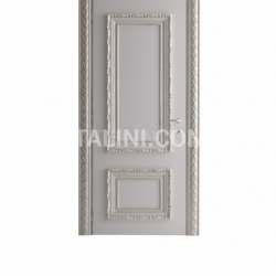MARATEA 1364/QQ Aged white lacquered door Classic Wood Interior Doors - №16