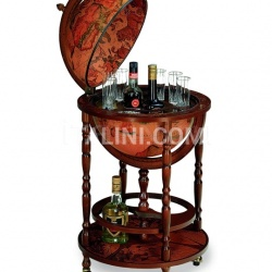"Zofolli Elegant bar globe with wheels ""Minerva"" - Classic - №39"