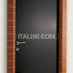Giudetto LAC 1011/QQ Gloss brush lacquered black. Modern Interior Doors - №180