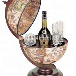 "Zofolli ""Sfera 33"" small desk bar globe - Ivory - №23"