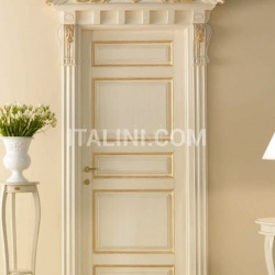 BASTIGLIA 768/QQ/G Pant.G with Bastiglia doorway with carving Classic Wood Interior Doors - №28