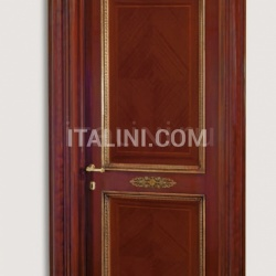 LA MARINA 3012/QQ Marina archway with gold frames and metal elements Classic Wood Interior Doors - №53