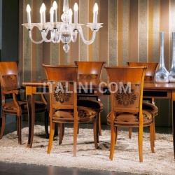 Bello Sedie Luxury classic chairs, Art. 3028: Table, Extensible table - №128