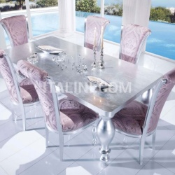 Luxury classic chairs, Art. 3270: Table - №94