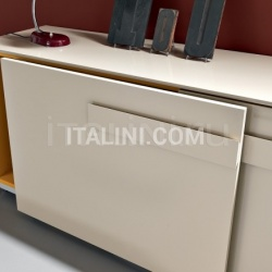 Pull out sliding doors cabinet - №150