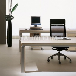 Ideal Form Team Electa Limed Oak Desk - №24