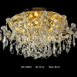 Italian Light Production Ceiling light - L 430.3 - №7