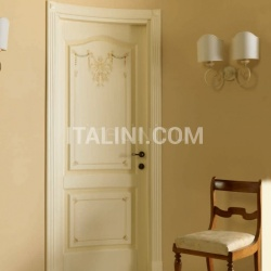 S.CANTOSI 712M/QQ/A/CP Pant. A Classic Wood Interior Doors - №119