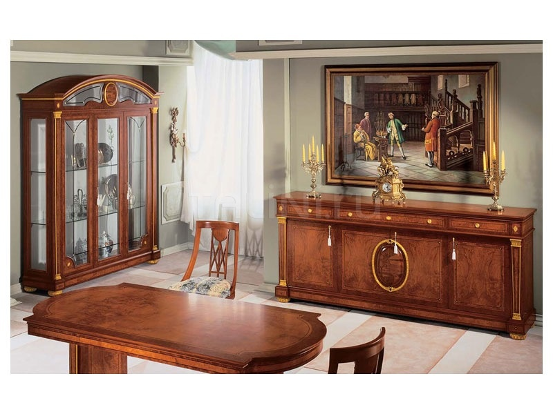 Sideboards in wood Living room  - IMPERO / Sideboard with 4 doors - №49