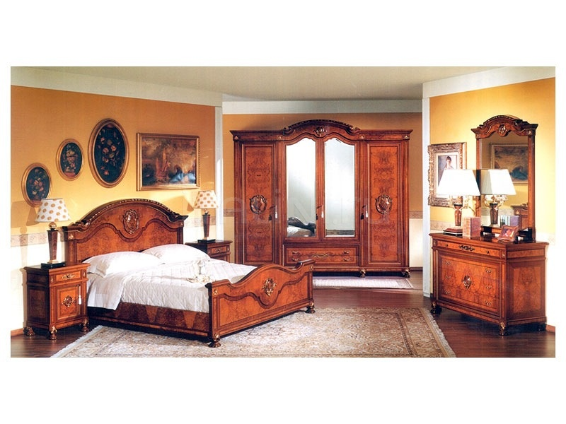 Classic furniture Guest bedroom  - DUCALE DUCSP / Wardrobe with 4 doors - №19