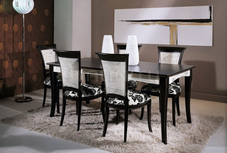 Luxury classic chairs, Art. 3062: Table, Extensible table - №113