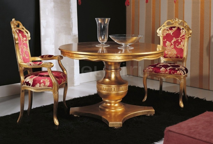 Luxury classic chairs, Art. 3007: Extensible table - №124