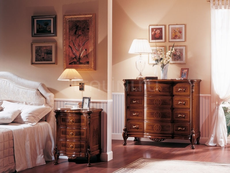 Luxury classic nightstands Hotel  - ROYAL NOCE / Bedside table - №73
