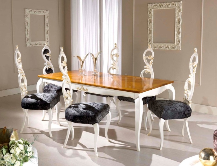 Luxury classic chairs, Art. 3295: Table, Extensible table - №88