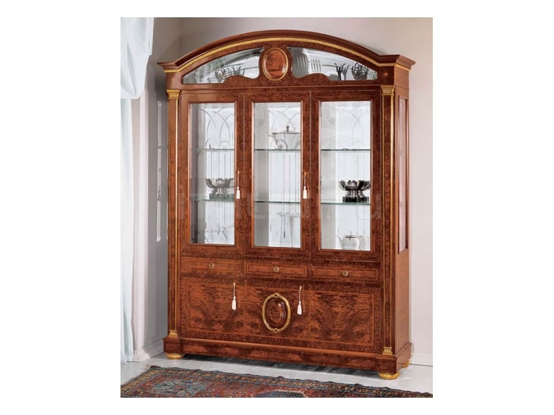 Luxury showcase Jewellery shop  - IMPERO / Display cabinet with 3 doors B - №39