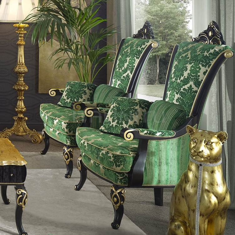Luxury classic chairs, Art. 3516: Armchair - №136