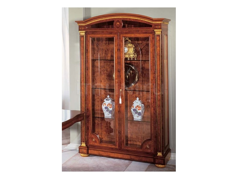Luxury showcases Shop  - IMPERO / Display cabinet with 2 doors - №36