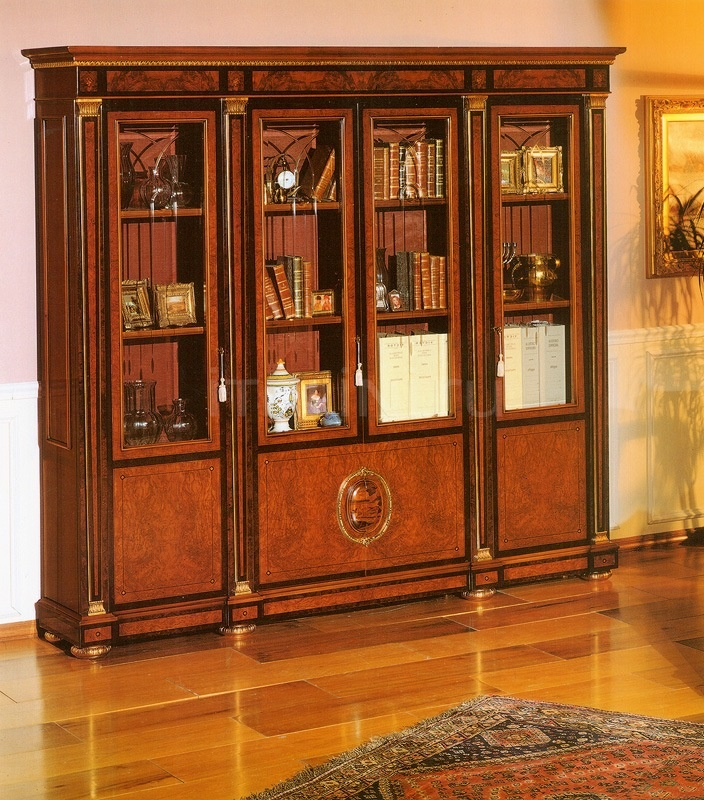 Hand worked bookcases Castle  - IMPERO / HOME OFFICE Bookcase - №44