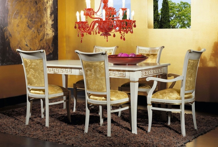Luxury classic chairs, Art. 3047: Table, Extensible table - №127
