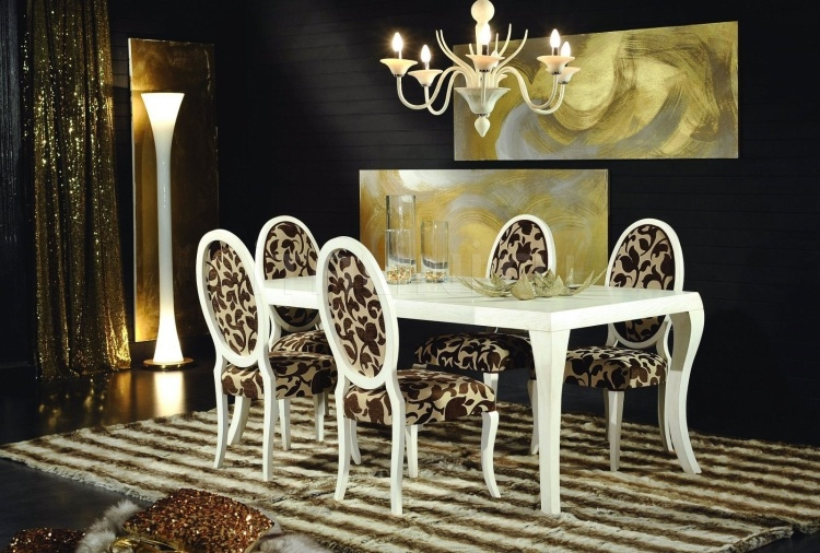 Luxury classic chairs, Art. 3211: Table - №104