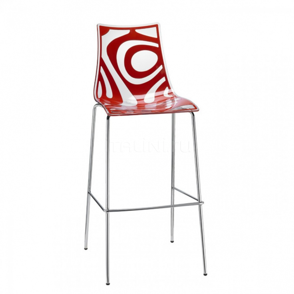 WAVE STOOL h.80/h.65 - №183