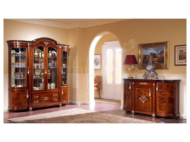 Luxury showcases Living room furniture  - DUCALE DUCSO4PB / Display cabinet with 4 doors B - №17