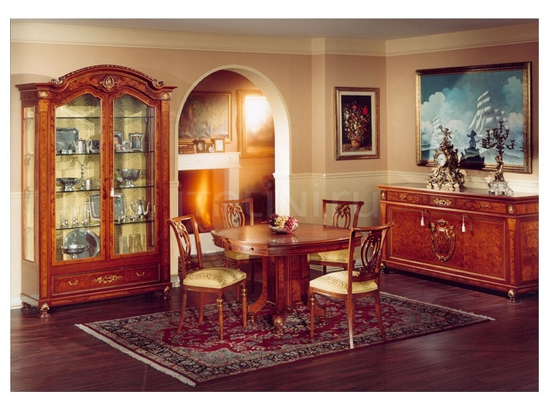 Showcases with wooden structure Dining room  - DUCALE DUCVE2P / Display cabinet with 2 doors - №23