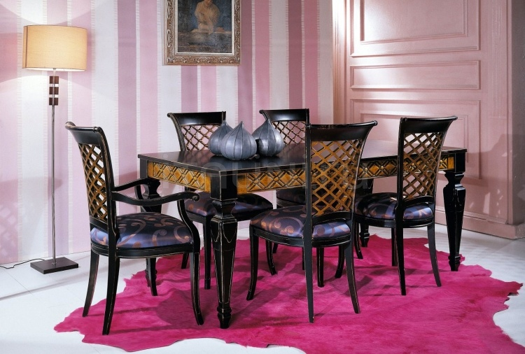 Luxury classic chairs, Art. 3003: Table, Extensible table - №131