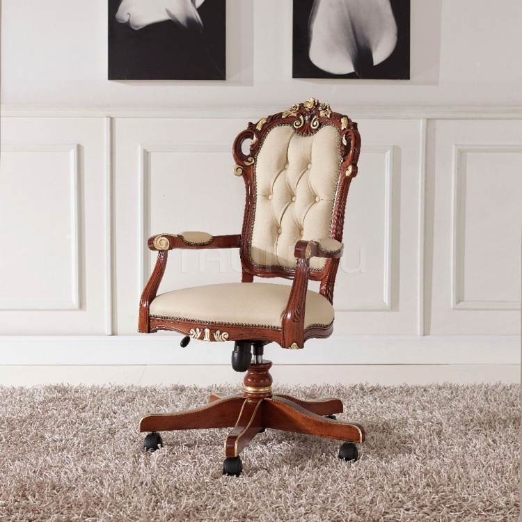 Luxury classic chairs, Art. 3348: Office armchair - №24